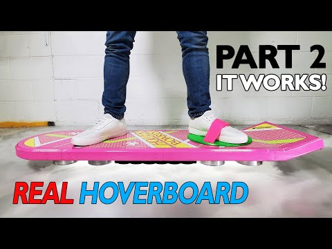 Real Life Hoverboard Test