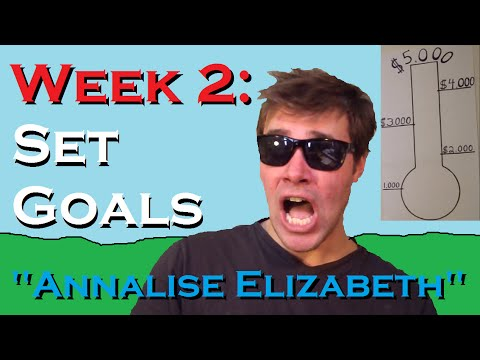 "Set Goals - ""Annalise Elizabeth"""