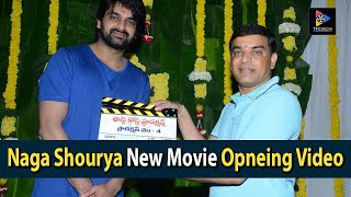 Producer Dil Raju Launched Naga Shourya's New Movie || Telugu New Movies || TFC Film News
