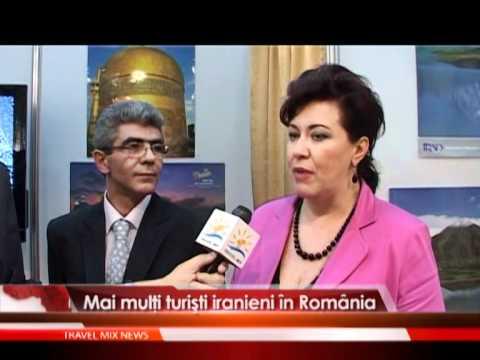Mai mulţi turişti iranieni în România