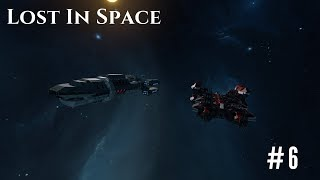 Space Engineers - Lost In Space Ep #6: Star Haven Outpost and combat with Capt Firefox
