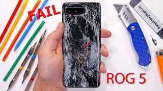 Asus ROG Phone 5 has a Problem - Durability Test Fail!