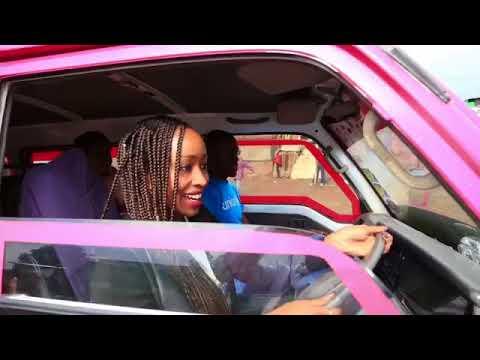 Janet Mbugua: Janet Mbugua drives a matatu in Mathare