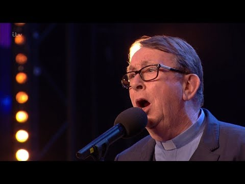 Britains Got Talent 2018 Father Ray Kelly Impassioned Singer Full Audition S12E02