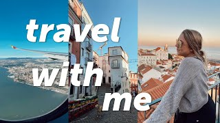 Travel vlog: Fly with me to PORTUGAL!