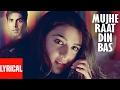 """Mujhe Raat Din Bas"" Lyrical Video | Sangharsh | Sonu Nigam | Akshay Kumar, Priety Zinta, Aman Verma"