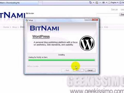 Video Tutorial: come installare WordPress in Windows Vista