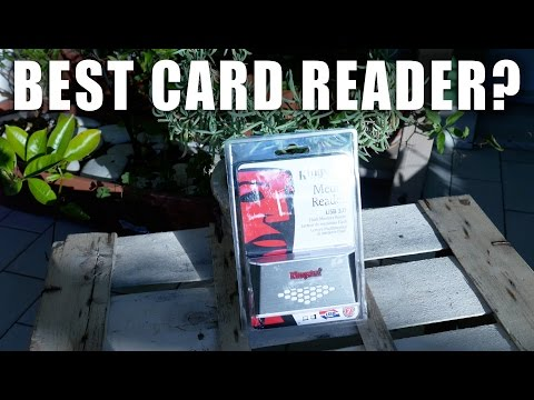 Kingston FCR-HS4, Best Card Reader? | Unboxing & Review