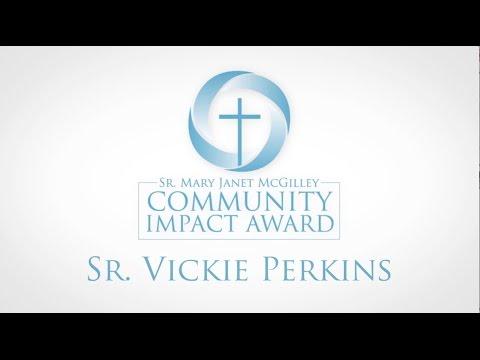 2017 Community Impact Award: Sr. Vickie Perkins