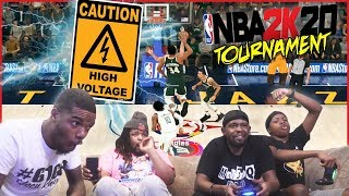 They Had To Settle The Beef! High Voltage Pain Game NBA 2K20 Tourney Wager!