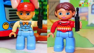 Мультики для детей с машинками и животными - Лошадка! игрушечные мультфильмы