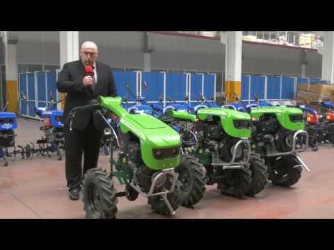 Відеоогляд заводу по виробництву мотоблоків,мототракторів та тракторів в Туреччині.