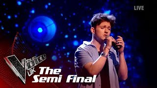 Jimmy Balito's 'Fix You' | The Semi Finals | The Voice UK 2019