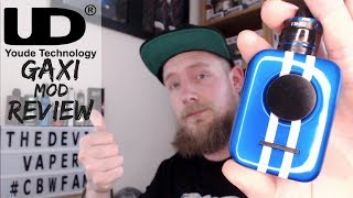 UD Gaxi Mod Review - A Palm Sized Pocket Mod!