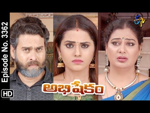 Abhishekam | 24th October 2019  | Full Episode No 3362 | ETV Telugu