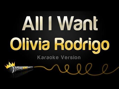 Olivia Rodrigo - All I Want (Karaoke Version)