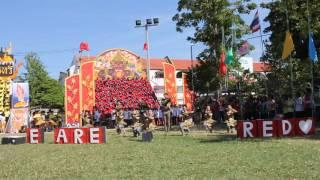 การแสดงคณะสีแดง กีฬาสี58 เพลงมาร์ชสตรีสิริเกศ