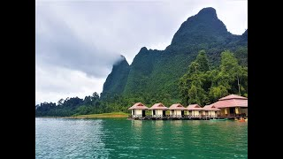 preview picture of video 'Excursion to the reserve Khao Sok on the lake Cheo Lan   заповедник Кхао Сок на озеро Чео Лан'