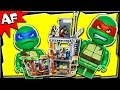 TURTLE LAIR ATTACK 79103 Lego TMNT Teenage Mutant Ninja Turtles Stop Motion Set Review