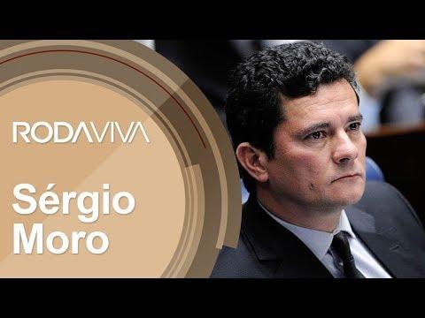 '.A íntegra da entrevista de Sérgio Moro ao Roda Vida, da TV Cultura.'