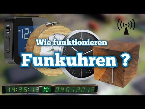 So funktioniert eine Funkuhr !   DCF77