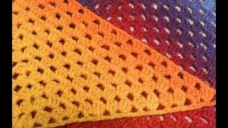 "Узор для шали или бактуса ""Бабушкин квадрат""из Кауни(pattern to crochet shawl) (Шаль #13)"