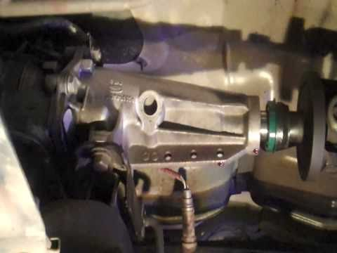 Transmission Tailshaft Seal Replacement DIY
