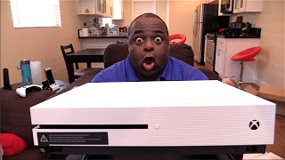 XBOX ONE S UNBOXING! [It's SO Pretty!]