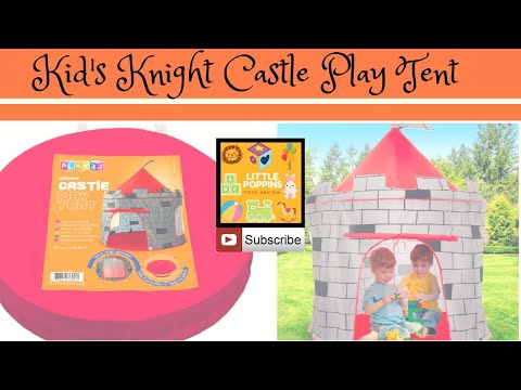 Little Poppins Surprise Gift | Kids Play Tent Knight Castle