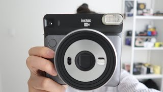 Fujifilm Instax Square SQ6 with Test Pictures