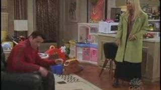 Scene from Friends Phoebe Tries to Teach Joey French