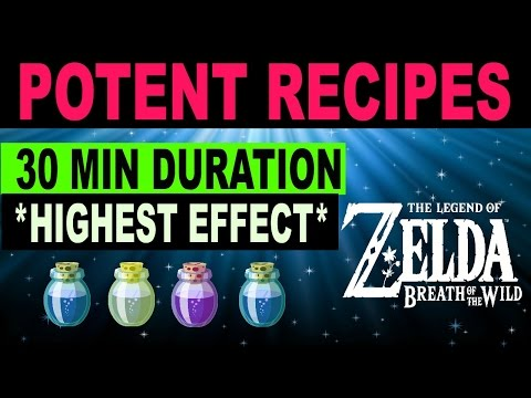 Video Cooking Elixir & Food Recipes - HIGH LEVEL 30 Minute Durations - Zelda: Breath of the Wild