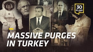 Latest numbers of the ongoing extensive purge in Turkey