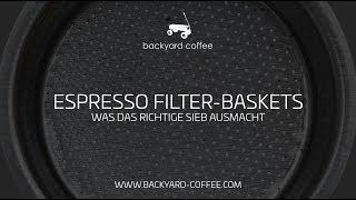 Filter Baskets | Was der richtige Filter bewirkt.
