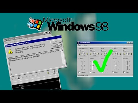 Fix Mouse WIndows98 VMware Workstation - смотреть онлайн на