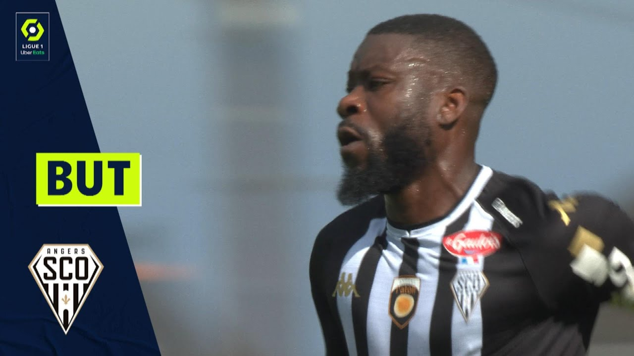 But Ismaël TRAORE (10' - SCO) ANGERS SCO - FC NANTES (1-4) 21/22