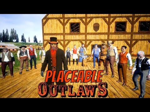 Placeable NPC's/ Player Shop Update 1.2.4 OUTLAWS of the Old West
