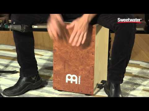 Meinl Percussion Ergo-Shaped Pedal Cajon Review by Sweetwater