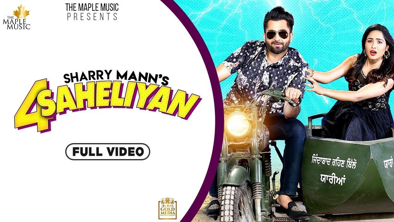 4 सहेलियां Saheliyan Lyrics by Sharry Maan