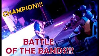 Battle Of The Bands CHAMPION!!! (My Band Performance)