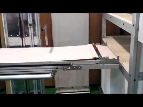 video 1, Elevateur enfourneur manuel à colonne