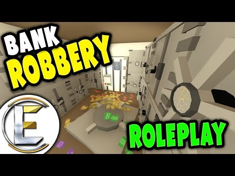 CITY BANK ROBBERY - Gone completely wrong | Unturned Roleplay