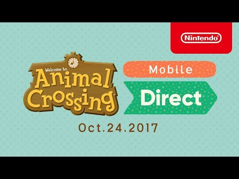 Animal Crossing Mobile Direct Oct.24.2017