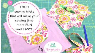 Four Sewing Tricks/ Tips you are going to be glad you know!
