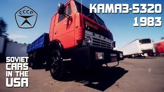 камаз в США   kamaz in the USA