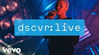 Jorja Smith - Something in the Way (dscvr Live)