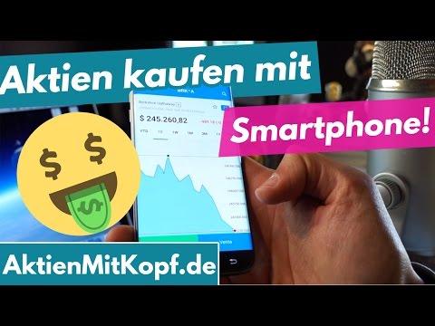 Aktien kaufen mit Smartphone? 5.000 € in Berkshire Hathaway via App investiert