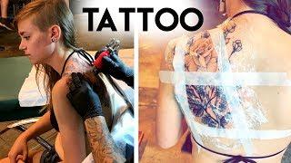 Getting My Shoulder Tattoo!