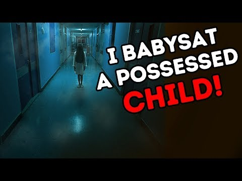 I BABYSAT A POSSESSED CHILD! MY HORROR STORY ANIMATED