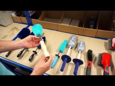 HQS Autopflege - Welche Felgenbürste ist die richtige?